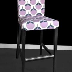 Custom Chair Covers Ikea Slipcover For Oversized Lavender Henriksdal Bar Stool Cover Sale
