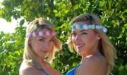beach wedding mermaid crown flower