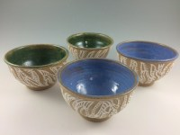 Small Handmade Pottery BowlsPasta Bowls Cereal by ...