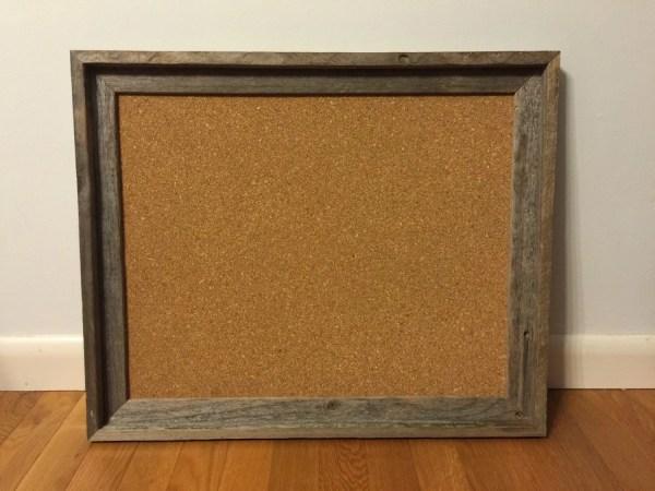 Decorative Bulletin Board Framed