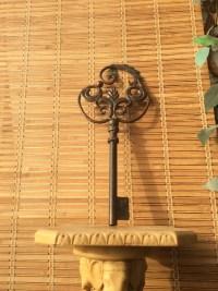 Large Metal Key Wall Dcor Wall Decor Vintage Skeleton by ...