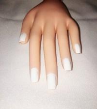 Milky White Press On Nails l White Fake Nails l White ...