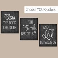 KITCHEN Wall Art Canvas or Prints Kitchen Quote Artwork