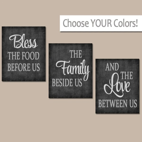 Kitchen Wall Art Canvas Prints Quote Artwork