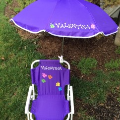 Children S Beach Chair With Umbrella Race Car Seat Gaming Personalized And Set