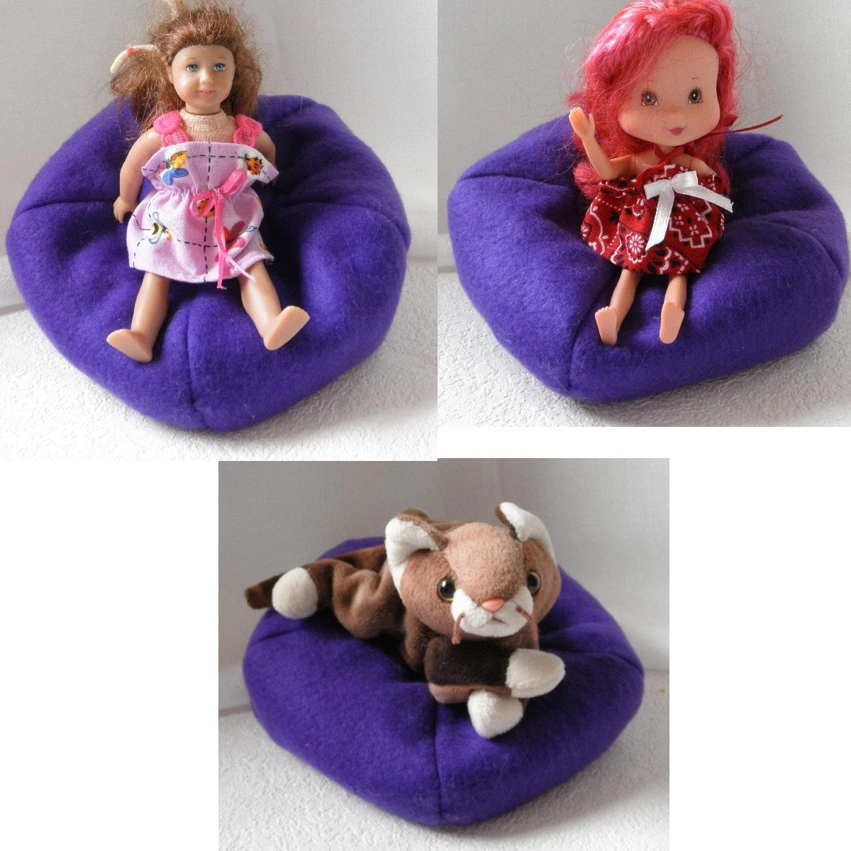 animal bean bag chair adirondack table and set blythe barbie pullip middie n stuffed animals