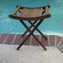 Fishing Ladder Chair Bassett Ellis Executive Portable Vintage Camping Stool Garden