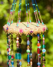 Beaded Sun Catcher Mobile