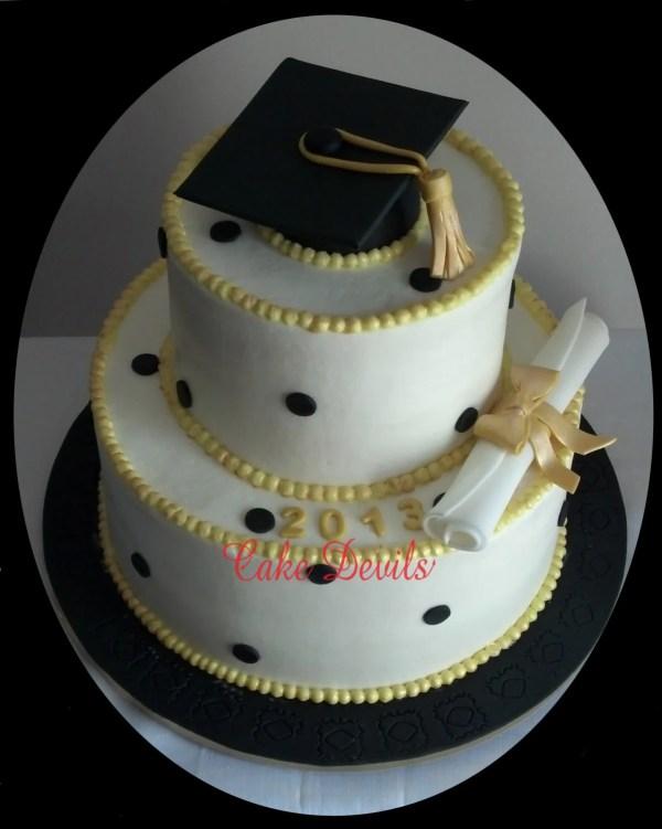 Graduation Cake Kit Fondant Toppers Handmade