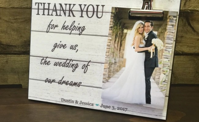 Wedding Officiant Gift Wedding Gift Thank You By