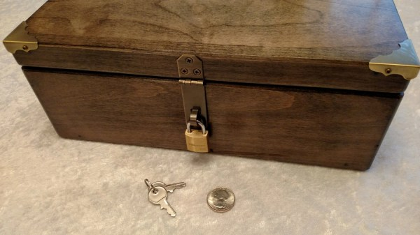 Small Brass Master Lock Skunk Stash And Keepsake Boxes