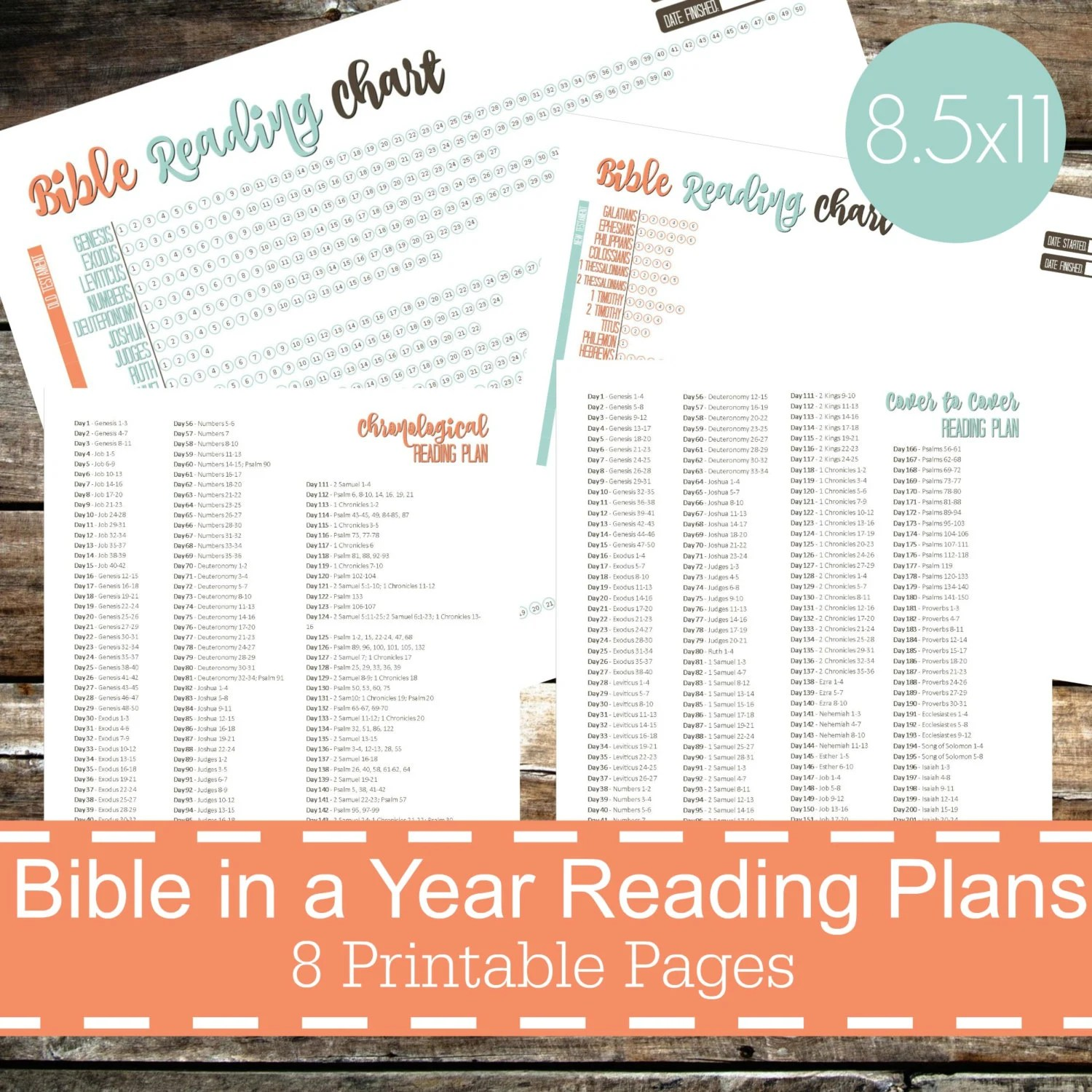 Bible In A Year Reading Plans Chart Bible Reading Chart