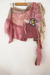 Pink Shawl Pink lace shawl Pink wedding shawl by