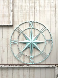Nautical Compass Wall Art Nautical Decor Nautical by