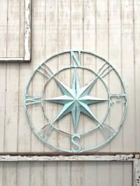 Nautical Compass Wall Art Nautical Decor Nautical by