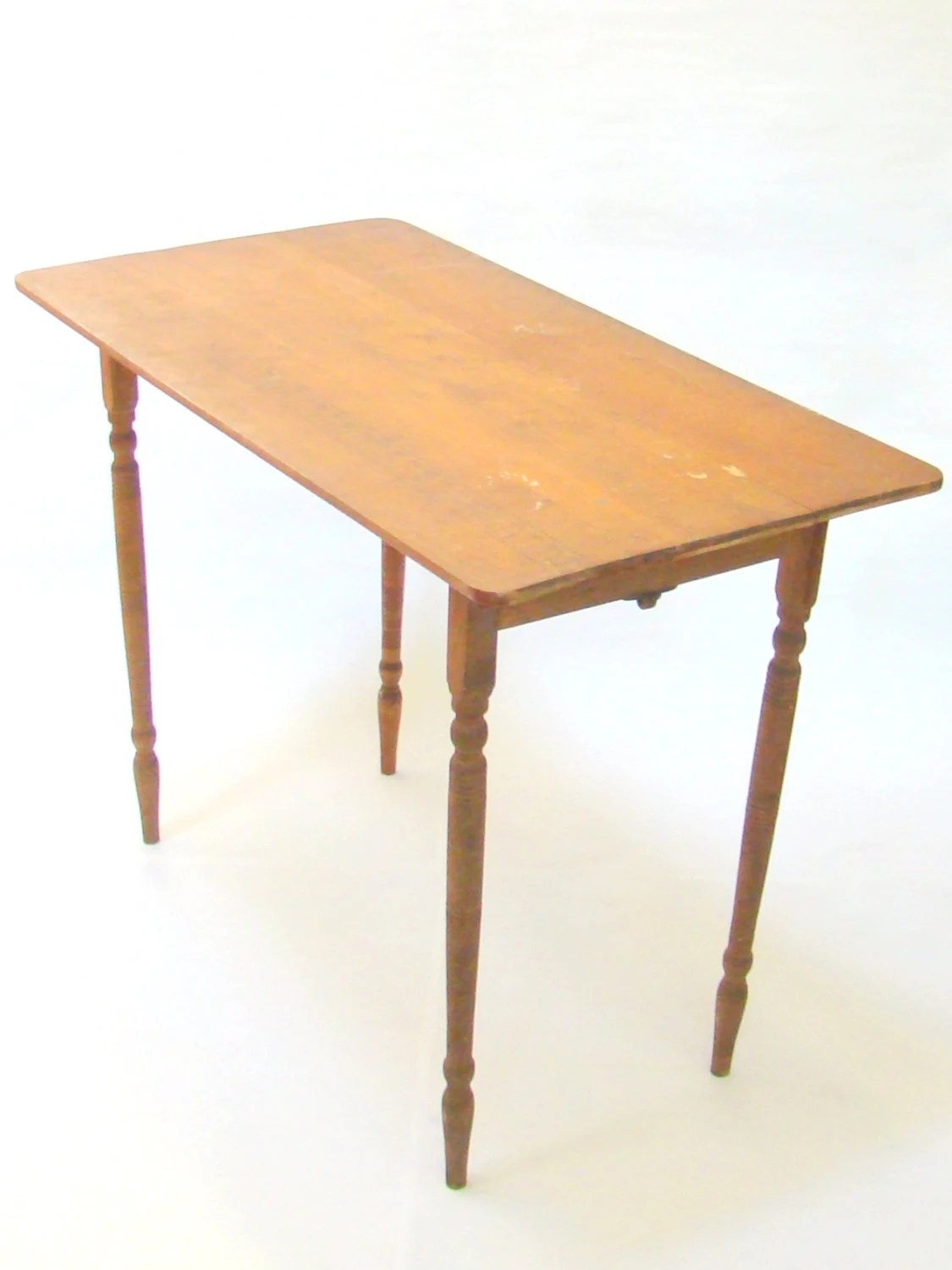 Vintage Sewing Table Vintage Tailors Table Crafting