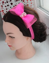 Wedding children's hair band for girl baby bow hair