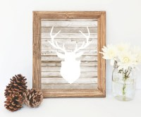 Deer Decor Printable digital download farmhouse by ...