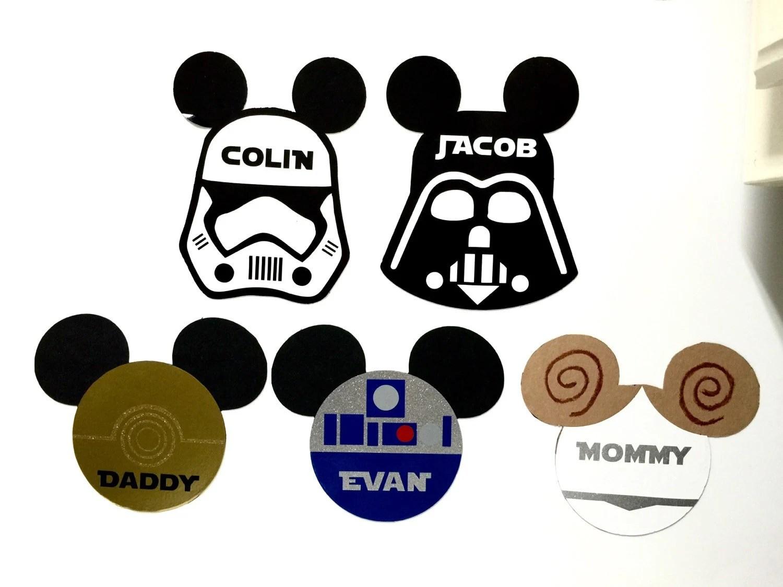 Disney Cruise Door Magnet Star Wars Darth Vader Stormtrooper