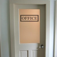 Office Vinyl Decal Office Glass Door Decal Wall Words Vinyl