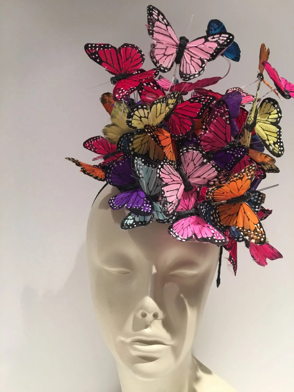 Butterfly Fascinator Fascinators NYC Butterfly Headdress