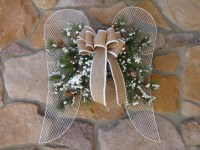 Angel Wings Christmas Wreath Christmas Decoration Angel