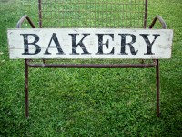 BAKERY Sign / Farmhouse Kitchen Sign / French Country Decor