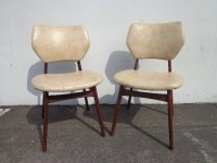 2 Chairs Mid Century Modern MCM Style Chair Student Seating