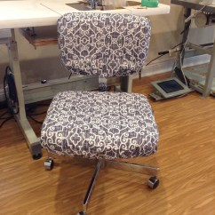 Desk Chair Cover Ergonomic Ball Office Seat And Back Covers With Monogram Dorm