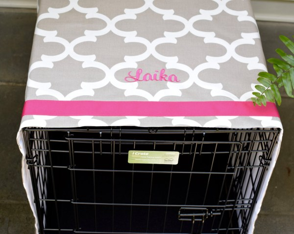 Personalized Dog Crate Covers