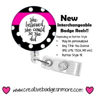 Custom Kate Spade Inspired Retractable ID by ...