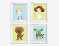 Star wars nursery | Etsy