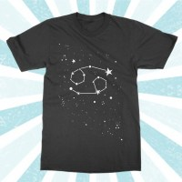 Cancer Zodiac Tee Shirt Constellation Horoscope T-shirt