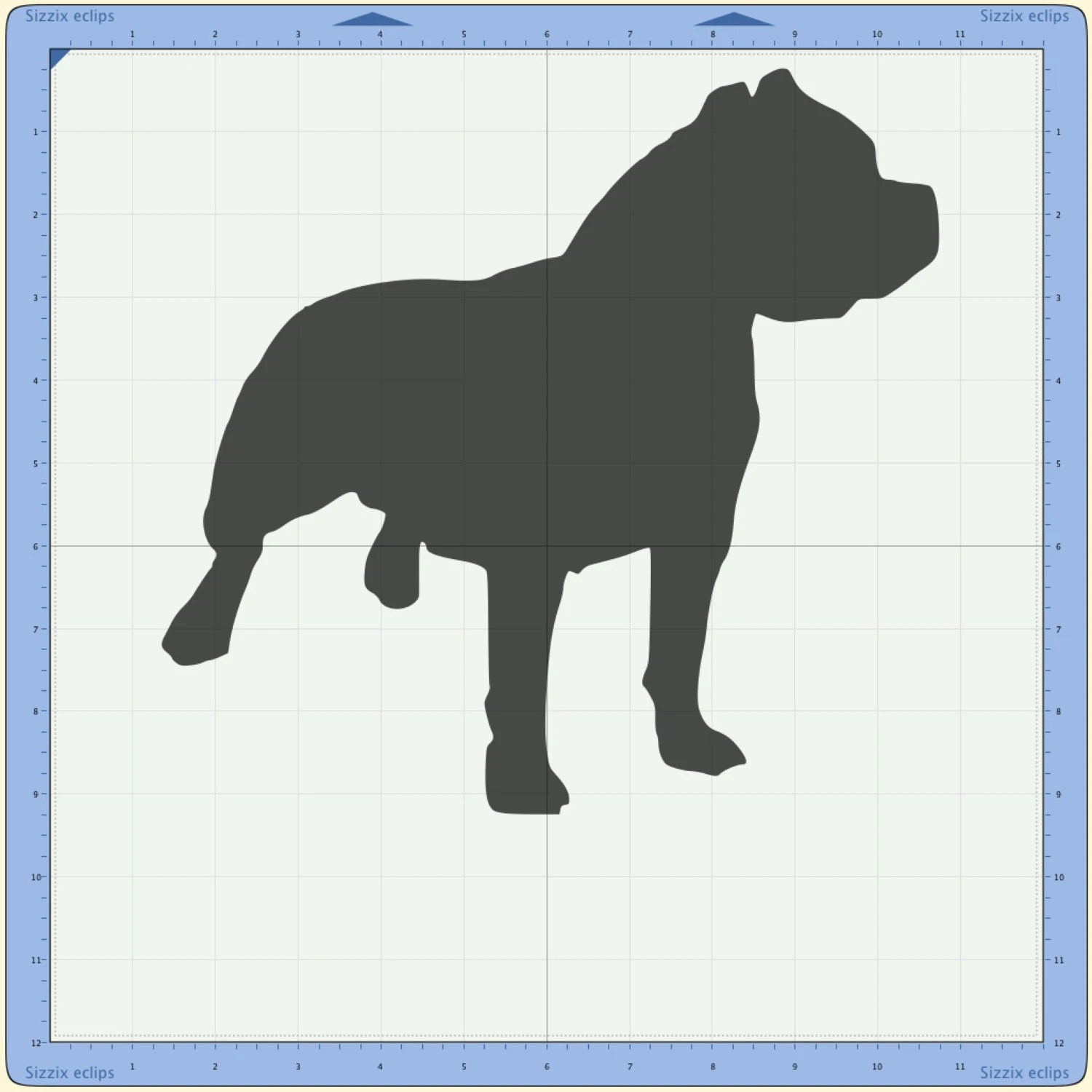 Pit Bull SVG Cutting File Pitbull
