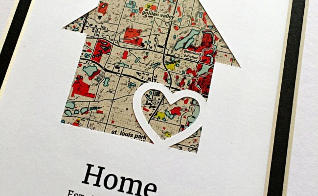 Home Personalized Housewarming Gift First Home Gift New