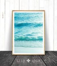 Beach Photography Printable Wall Art Modern Coastal Large