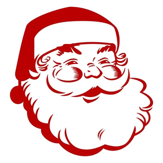 Download Retro Santa Pack Cuttable Design Christmas SVG DXF EPS use