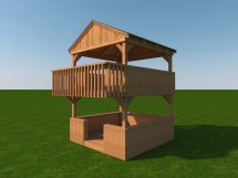 Build Your Own Outdoor Playhouse Plans