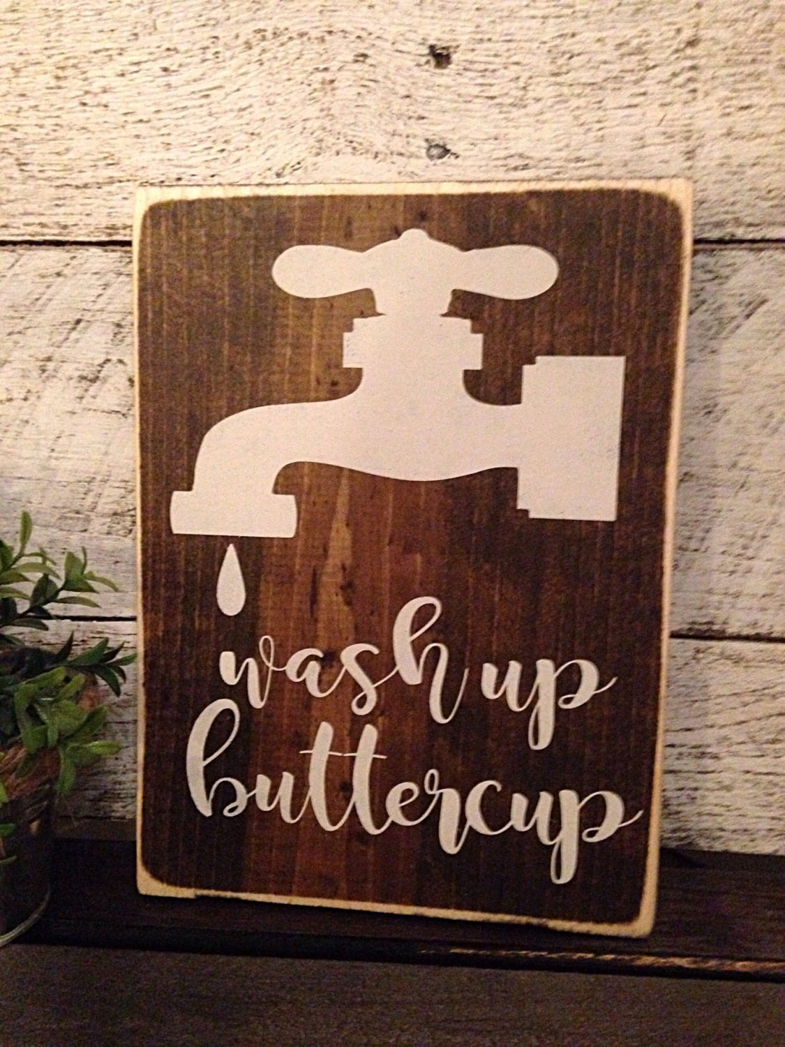 Wash sign Farmhouse bath bathroom decor bathroom sign