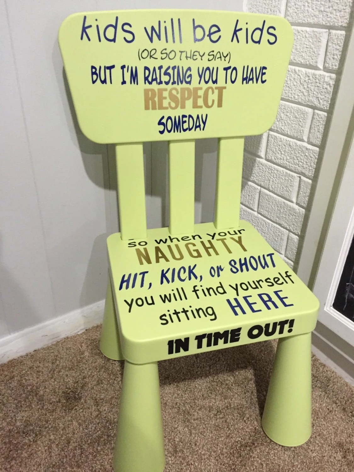 kids time out chair lifeform office review green