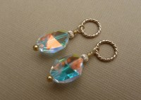 Gold Changeable Earring Charms Interchangeable Earrings Gold