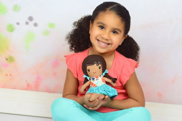 Personalized Soft Doll Custom Fabric 12