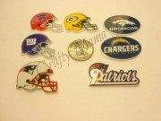 nfl football flatback resin embellishment