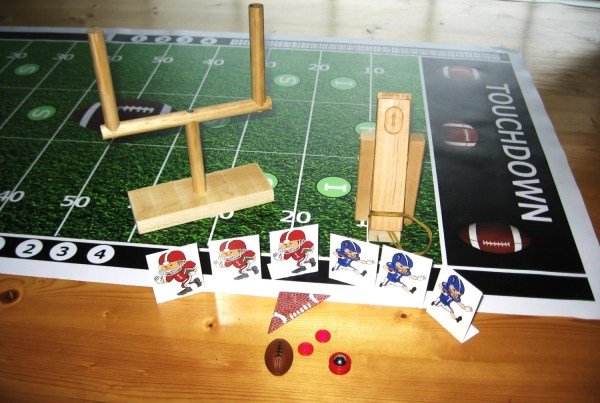 Tabletop Football Finger Game