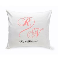 Personalized Couples Unity Throw Pillow Couples Personalized
