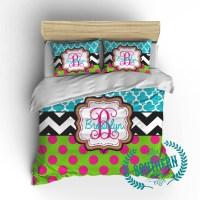 Top 28 - Monogrammed Comforter Sets - polka dot ...