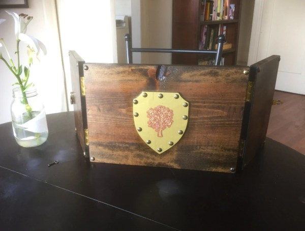 Wooden Dungeon Master Screen - Year of Clean Water