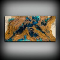 Giclee Abstract Fine Art Print from Original Acrylic ...