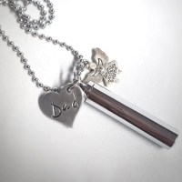 Cremation Jewelry Cremation Necklace Ash Holder Necklace
