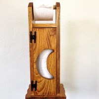 Toilet Paper Holder Outhouse Toilet Paper HolderRustic